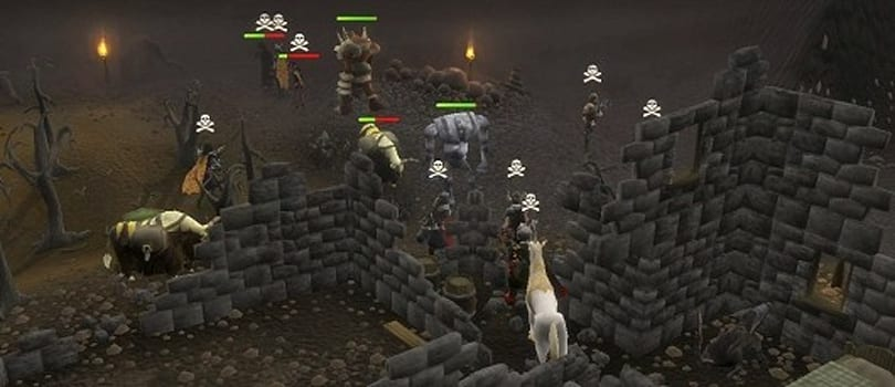 RuneScape's wilderness PvP and free trade have returned