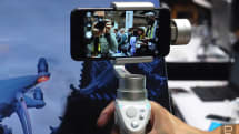 DJI gives its Osmo Mobile stabilizer a fresh silver look