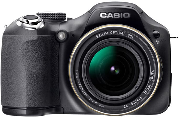 Casio stuffs backlit CMOS sensors in Exilim EX-FC150 and EX-FH25 superzoom