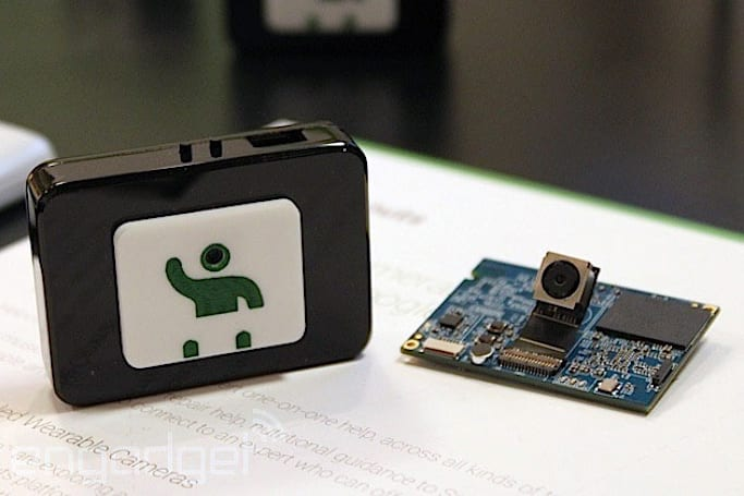 Wearable Google Helpouts streaming camera shares GoPro heritage, we go hands-on (video)