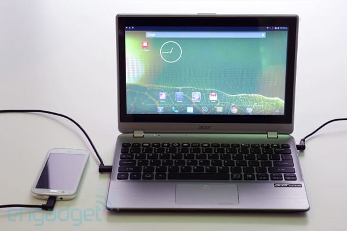 Acer Extend concept is a smartphone workstation, we go hands-on (video)