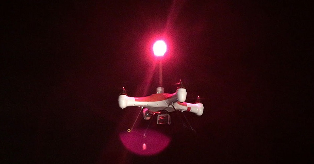Drone Delivery Canada >> Splash Drone shrugs off water and launches rescue flares