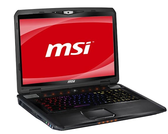 MSI's SteelSeries keyboard-equipped GT780R, GX780 gaming laptops now available