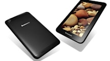 Lenovo outs three Android tablets, the 7-inch A1000 and A3000, and the 10-inch S6000 (hands-on)