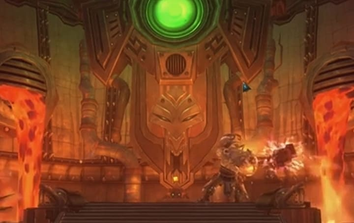 See players take down WildStar's Forgemaster Trogun