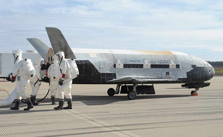Secretive space drone used to test futuristic propulsion system