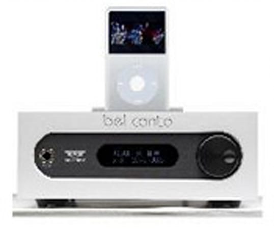 Bel Canto's Ultra-Dock preys on iPod / iPhone owners