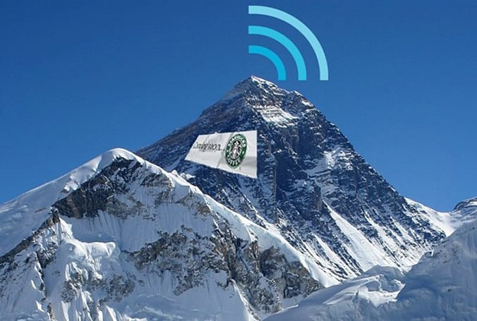 Mount Everest now 'wired' for Internet, ready for Starbucks
