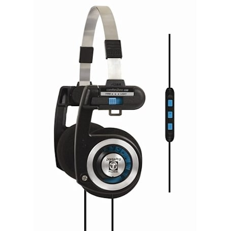 Koss revamps Porta Pro headphones with iPhone remote, intros 'interlocking' earbuds