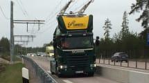 Schweden testet elektrifizierte Straßen für Trucks