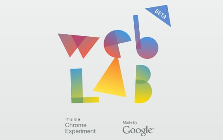 Google teases Web Lab beta, an intersection of art, technology and the internet?