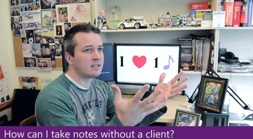 OneNote team goes off-key with Les Mis parody