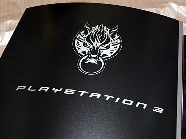 Special Edition Advent Children PlayStation 3 unboxed in all its matte glory
