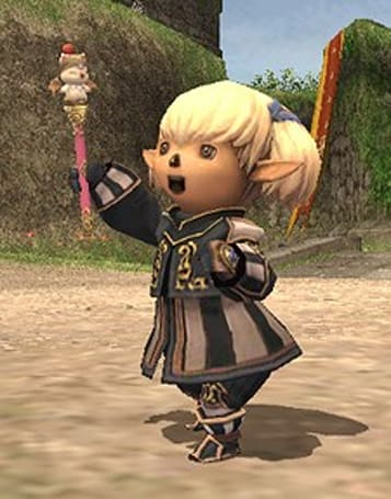 Final Fantasy XI holds a contest to draw the professor, Vana'diel's newest royal successor