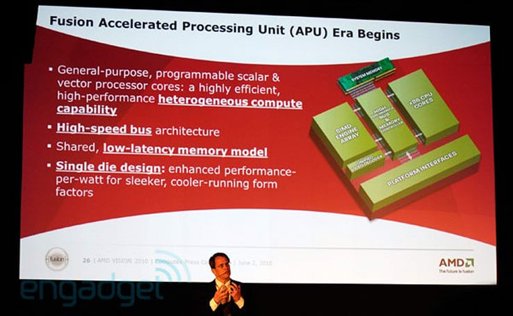 AMD Fusion APU gets its first public demo at Computex (video)