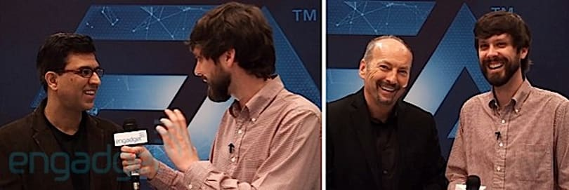 EA's CTO Rajat Taneja and COO Peter Moore on plans for next-gen and Origin