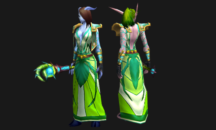 Transmogrification Contest: Create an outfit around a single piece of gear