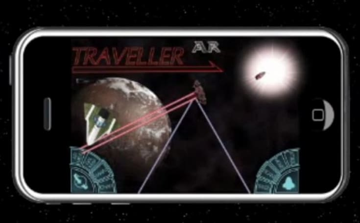 Traveller AR trailer promises the galaxy
