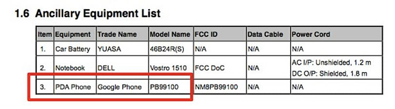 HTC Nexus One Bluetooth car dock hits the FCC; Nexus One trade name listed as 'Google Phone'