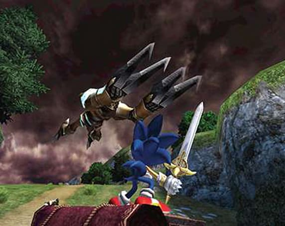 Sonic and the Black Knight loses a little color