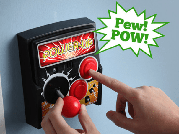Think Geek's latest is an arcade light switch