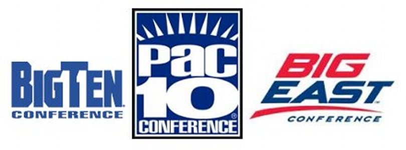 Pac-10, Big Ten and Big East to cut down the nets in HD