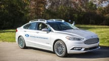 Ford's new self-driving Fusion almost looks like a regular car