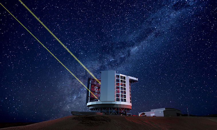 Construction has begun on the Giant Magellan Telescope in Chile