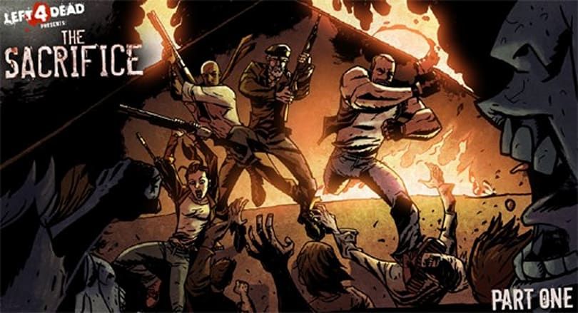 Parts 1 and 2 of Left 4 Dead 'The Sacrifice' comic now online