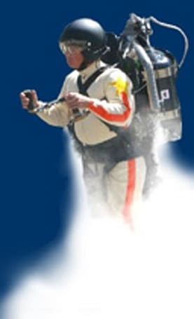 The ThunderPack jetpack promises to make you a ThunderMan... for 37 seconds