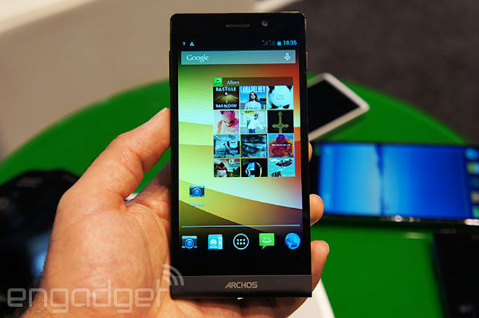 Archos' octa-core smartphone is surprisingly quick for the price