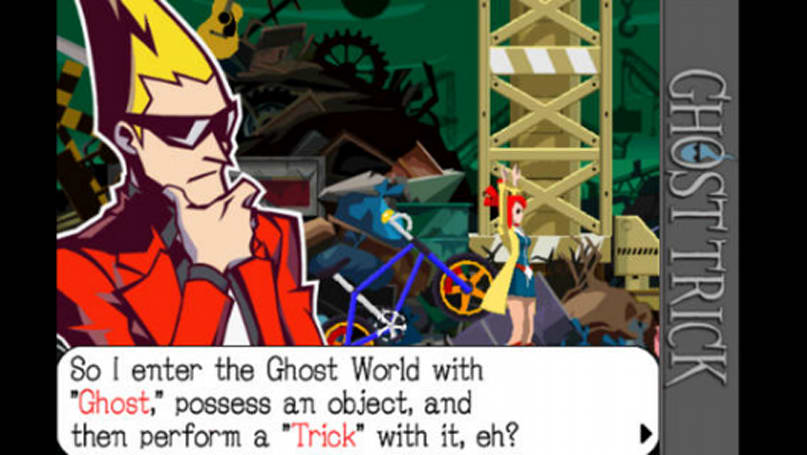 Ghost Trick: Phantom Detective is $1 on iOS in the name of holiday cheer