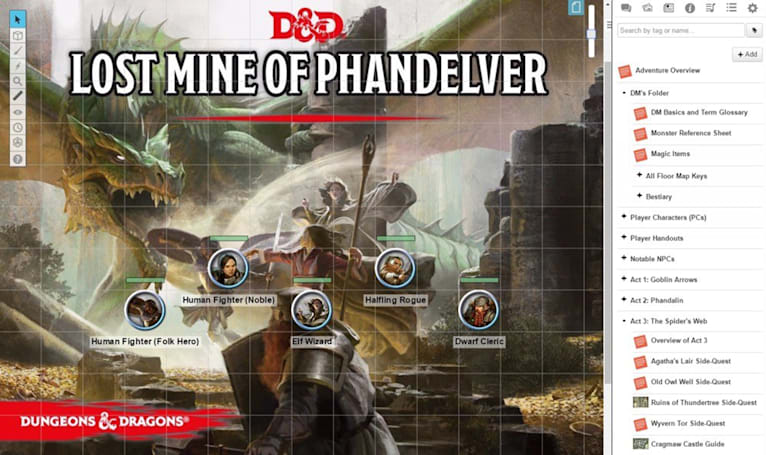 Official 'Dungeons and Dragons' content now available on Roll20
