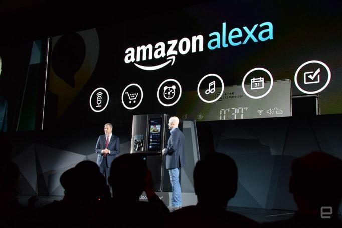Amazon's Alexa assistant is coming to LG refrigerators