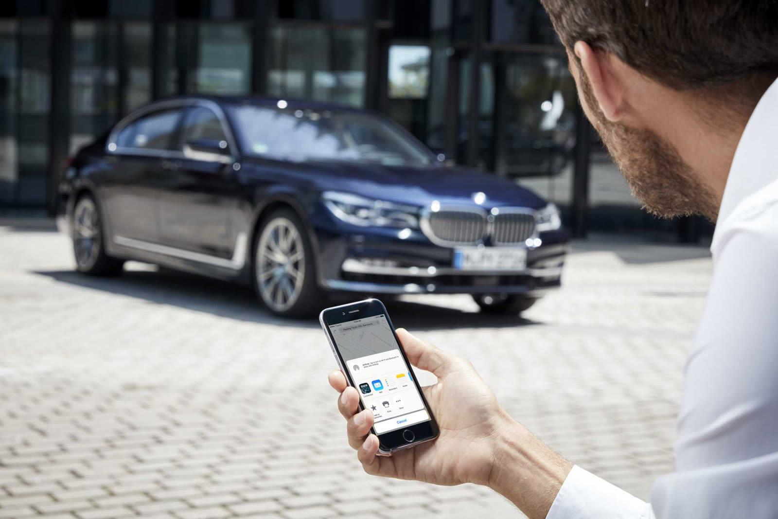 Resultado de imagen para Un app de BMW en google