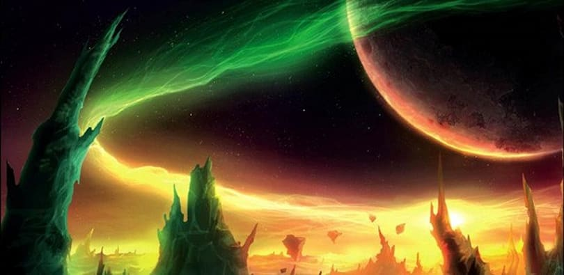 Breakfast Topic: Do you like a little sci-fi in your fantasy?