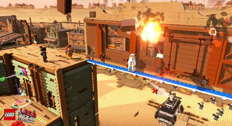The Lego Movie Videogame now in toy sto-- no, theatr-- no, game shops