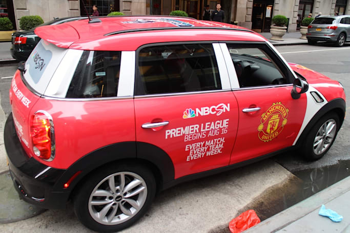 Hurry, your next Uber in NYC could be all about Manchester United