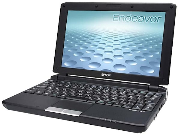 Epson's Endeavor Na01 mini is a netbook