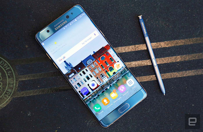 Samsung's Galaxy Note 7 costs at least $850 in the US