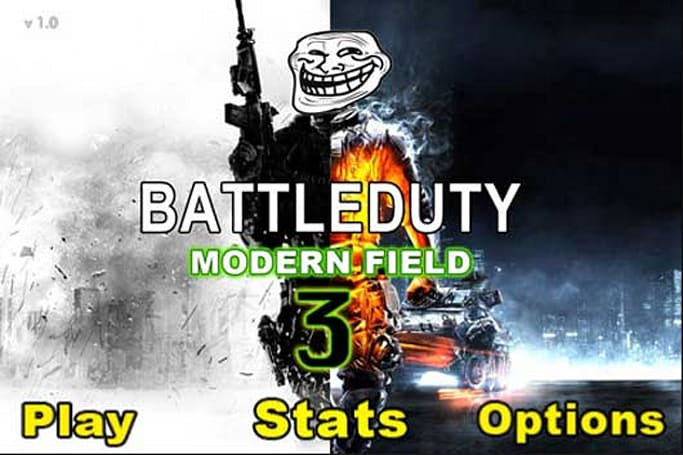 Battle Duty: Modern Field 3 takes copyright infringement to new heights