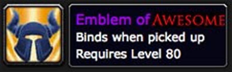 Blizzard did the wrong thing with Ulduar-10 emblems