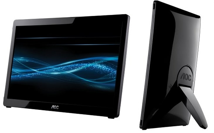AOC's 16-inch portable monitor sucks power, video from your USB port