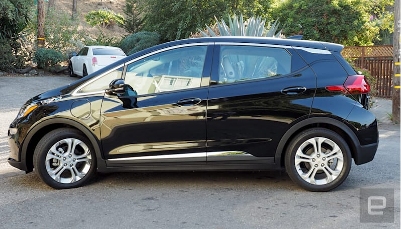 The all-electric Chevy Bolt costs $30,000