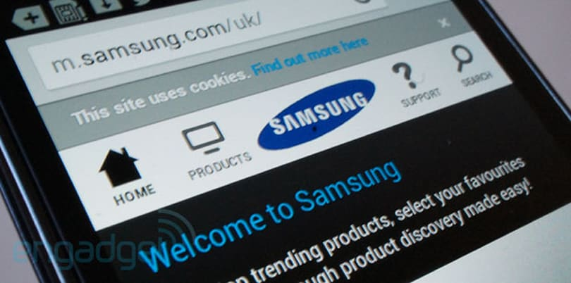 Is Samsung working on its own mobile browser?