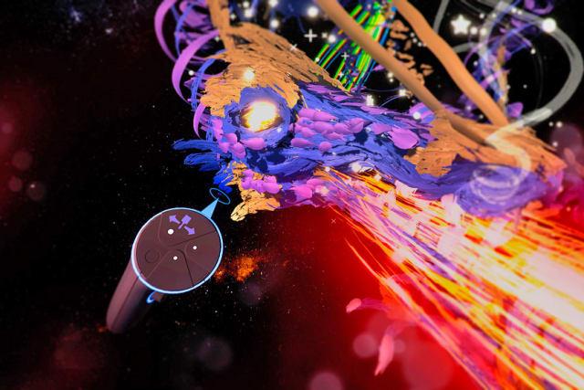 Google's VR painting app lands on the Oculus Rift