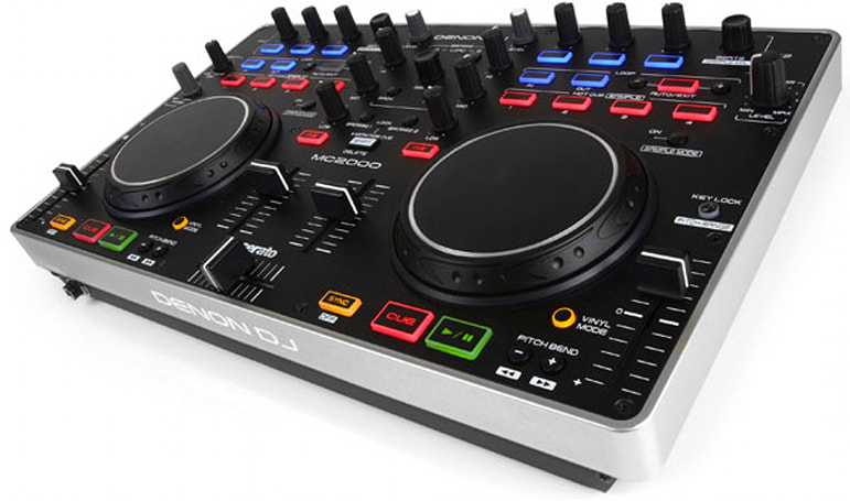Denon launches MC2000 DJ controller, invites prospective spinners to 'own the party' (video)