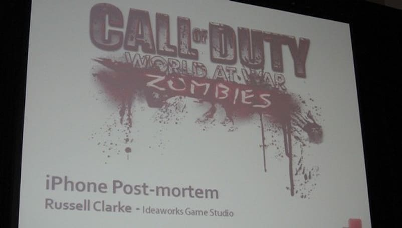 GDC 2010: Call of Duty: World at War Zombies postmortem