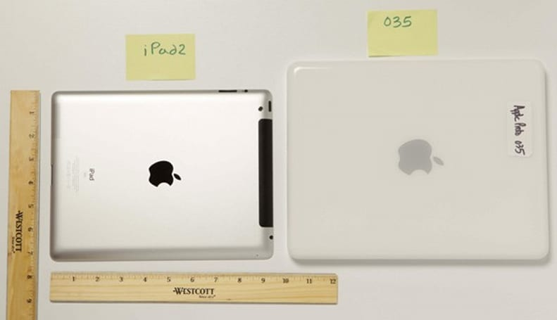 iPad prototype renderings from early-2000s revealed in Apple / Samsung court filings (update: comparison shots)
