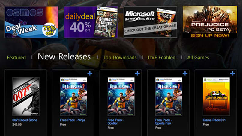 Games for Windows Marketplace relaunches right on time